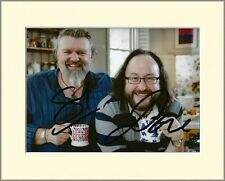 HAIRY BIKERS TV CHEFS PP 8x10 MOUNTED SIGNED AUTOGRAPH PHOTO