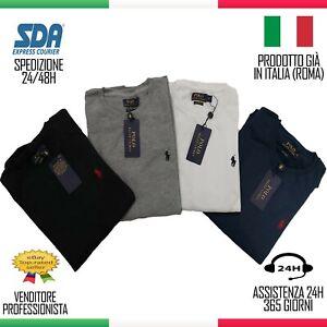 FELPA Polo Ralph Lauren Uomo Cotone  Polo Maglietta Maglione SAN VALENTINO