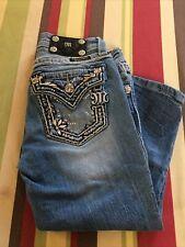 Miss me jeans. Junior size 12 Capri.