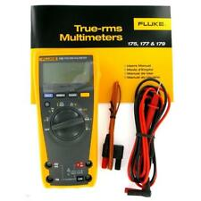 Fluke 179 True-RMS Digital Multimeter with 80BK Temperature Probe