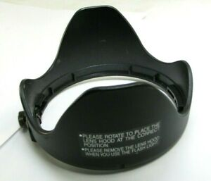 Lens Hood Shade adapter twist on type for 76mm ID for 72mm rim panasonic