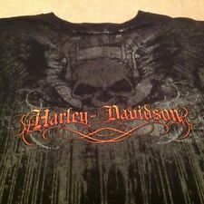 NEW Harley Davidson Mens T-Shirt Large Graphic SKULL-DEMON Knoxville Tennessee