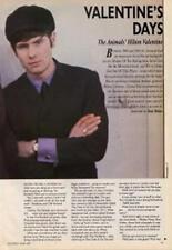 Animals Hilton Valentine Guitarist Interview Clipping