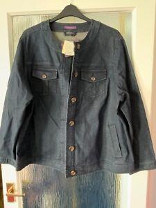 Elisabeth by Liz Claiborne Denim Jacket size XXL Brand New with Tags