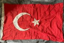 More details for ww1 turkish ottoman flag complete with all markings