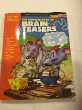 The Complete Book of Brain Teasers : Grades 3-5 (2000, Paperback, Workbook)