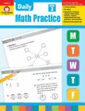 Daily Math Practice: Daily Math Practice, Grade 3 by Evan-Moor (1999, Paperback…