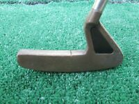 Golf Vintage Dunlop Wishbone 1 Brass Headed Putter Very Good Original Condition