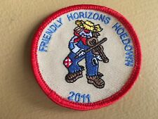Girl Scout Patch -Friendly Horizons Hoedown 2011 - Qty 1  - USED
