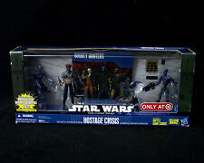 New Star Wars HOSTAGE CRISIS 4 Figures STAR WARS Robonino SHAHAN ALAMA Droids