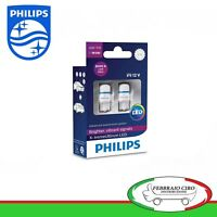 Lampadine Philips X-treme Ultinon LED T10 12V 8000k Luce Blu Freddo 127998000KX2