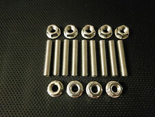 Vauxhall EXHAUST MANIFOLD STUDS  AND FLANGE NUTS BOLTS Corsa Zafira Astra M8