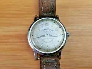 Early Vintage Paul Peugeot (F200) 17 Jewels Men's Wristwatch, Working