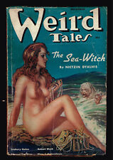 December 1937 WEIRD TALES - Virgil Finlay H P Lovecraft Bloch Edmund Hamilton