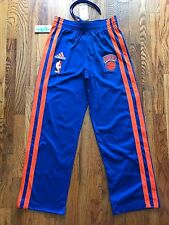 2011 Vintage Adidas On Court NY Knicks HWC Walter Brown Cup Warmup Pant Sz S