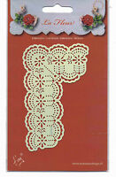 Marianne/Stencil/La Fleur/Floral/Flower/Corner/emboss/Stitch/Embroider/EE3432