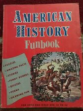 1959 American History Funbook by Settle G. Beard Boys and Girls 10-14 B26