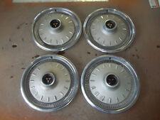 """1966 66 Dodge Dart Coronet Hubcap Rim Wheel Cover Hub Cap 14"""" OEM USED 585 SET"""