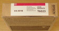 GENUINE EPSON T6023 Vivid Magenta cartridge ORIGINAL 110ml ink C13T602300 - 2018