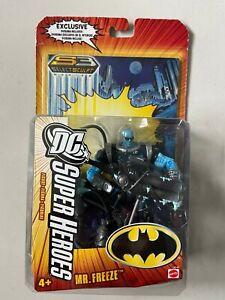 """DC Super Heroes MR FREEZE 6"""" Figure w/ Comic Book DCU Universe Classics Batman"""