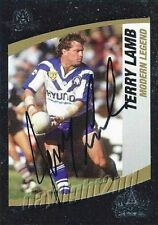 Autographed Terry Lamb NRL & Rugby League Trading Cards