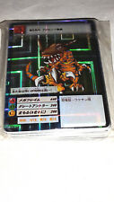 Digimon Karten Japan Holo 1st Generation  aus einem Geschäftsnachlass