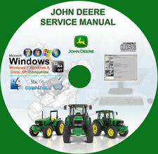 John Deere Tractors 3120, 3320, 3520, 3720  Service Repair Technical Manual CD