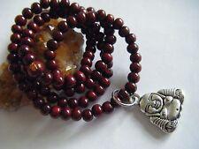 "Spiritual Unisex Mala Necklace Stacking Bracelet Buddha Yoga 20"" Men Woman"