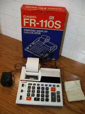 Vintage Casio Fr-110S Printing / Display Calculator