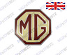 GENUINE MG MG TF FRONT / REAR BADGE DAB000160 FREE UK MAINLAND DELIVERY