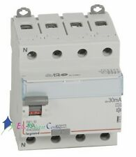 Inter différentiel 4P40A 30mA type A Vis/Vis Legrand 411675