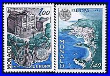 MONACO 1978 EUROPA-CEPT SC#1113-14 MNH CV$5.00 ARCHITECTURE (K-DEC)