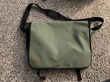 Hugo Boss Olive Green Shoulder Messenger Bag