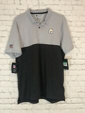 NIKE Breathe Pittsburgh Steelers Polo XL On Field Apparel Dri Fit NWT