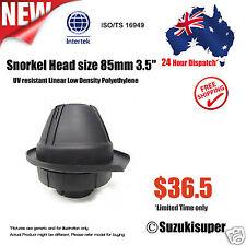 3.5 inch 85mm Snorkel Air Ram Head Safari Airflow Replacement