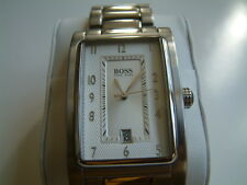 NEW AUTHENTIC HUGO BOSS MENS STAINLESS WATCH  1512213 HB-163 $395