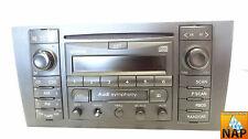 01 AUDI A6 STATION WAGON AM/FM RADIO TUNER CD PLAYER MODULE RECEIVER UNIT