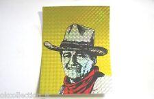 ADESIVO anni '80 / Old Sticker JOHN WAYNE (cm 11,5 x 15 carta brillante) WESTERN