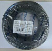 Cavo elettrico 100 metri sezione 1,5mm nero FS17 Isolati PVC CPR Made in Italy