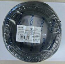 Câble électrique 100 m section 1,5mm noir FS17 Isolés PVC CPR Fabriqué en Italie