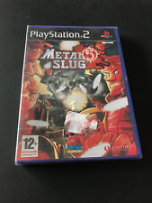 Metal Slug 5 PS2 Play Station 2 Pal ESPAÑOL NUEVO PRECINTADO