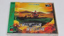 Thunder Storm FX Mega CD Mega-CD JPN Japan Japanese NTSC-J * Brand NEW Sealed *