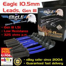 Eagle Spark Plug Leads 10.5mm Fits Holden Chev V8 LS1 5.7L VT VX VY VZ Blue
