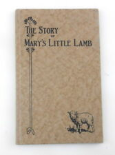 1928 THE STORY of MARY'S LITTLE LAMB Childrens Book MR & MRS HENRY FORD S20