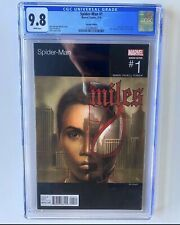 Spider-Man #1 Miles Morales (2016) Hip-Hop Variant CGC 9.8