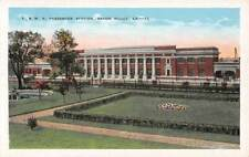 BATON ROUGE, LA ~ Y & MV RAILROAD STATION, KROPP PUB ~ 1915-30