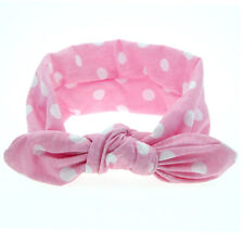 Fashion DIY Cute Baby Kids Girls Rabbit Ears Bow Knot Headband Hair Band 2016 a