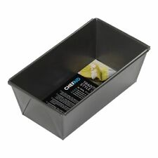 Chef Aid Non Stick 2LB Folded Box Sided Loaf Bread Cake Tin Pan 10E10620