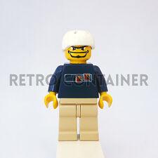 LEGO Minifigures - 1x gg003 - Skater - Skateboarder Omino Minifig Set 3537