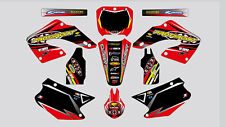 PROCIRQUIT X SHOEI HONDA CR 125-250 2000-2001 DECAL STICKER GRAPHIC KIT